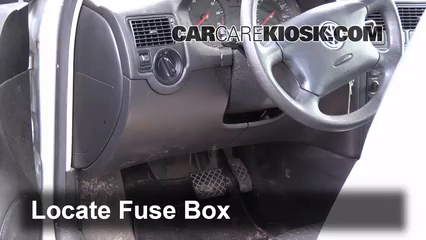 interior fuse box location 1999 2006 volkswagen golf 2002 interior fuse box location 1999 2006 volkswagen golf 2002 volkswagen golf gl 2 0l 4 cyl 2 door