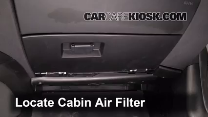 Cabin Filter Replacement: BMW Z4 2003-2008 - 2004 BMW Z4 2 ...