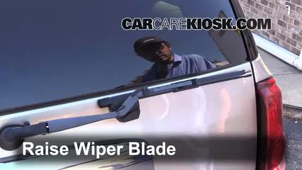 rear wiper blade change buick rainier 2004 2007 2004. Black Bedroom Furniture Sets. Home Design Ideas