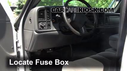 Interior Fuse Box Location: 2004-2012 Chevrolet Colorado ...