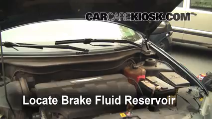 how to add brake fluid in a car