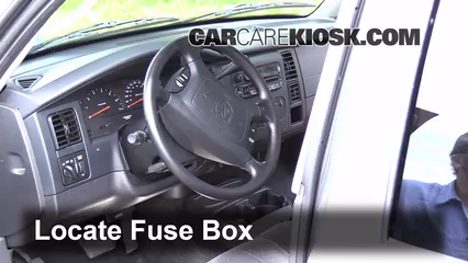 interior fuse box location 1997 2004 dodge dakota 2004 dodge interior fuse box location 1997 2004 dodge dakota 2004 dodge dakota slt 3 7l v6 crew cab pickup 4 door