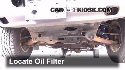 2004 dodge dakota fuel filter oil & filter change dodge dakota (1997-2004) - 2004 dodge ... 2004 dodge diesel fuel filter