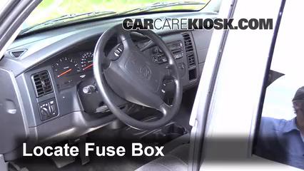 Fuse Interior Part 1 interior fuse box location 1997 2004 dodge dakota 2002 dodge,1998 Dodge Dakota Fuse Box Location