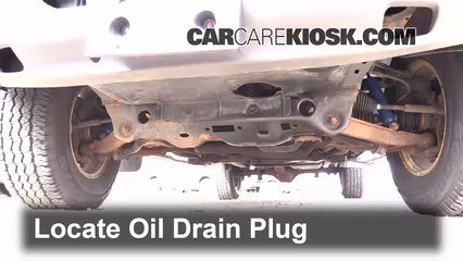 Oil Drain Plug Part on 1997 Dodge Dakota Transmission Pan