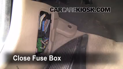 Interior    Fuse       Box    Location  20012004 Ford    Escape     2003 Ford    Escape    XLT 30L V6