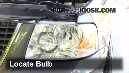 how to change turn signal bulb in ford escape
