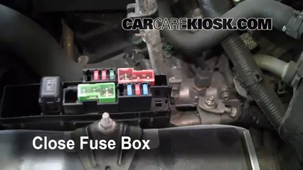 Blown Fuse Check 2003 2007 Nissan Murano 2004 Nissan