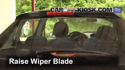 how to change wiper blades peugeot 208