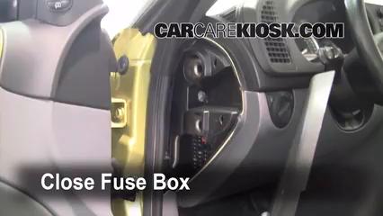 Interior Fuse Box Location: 2003-2007 Saab 9-3 - 2004 Saab ...