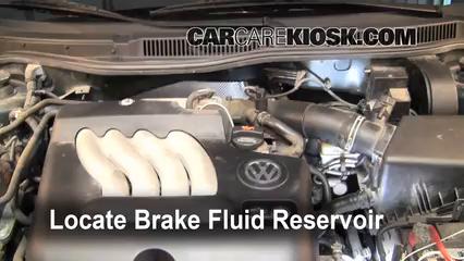 Volkswagen Jetta Gl L Cyl Sedan Fbrake Fluid Part