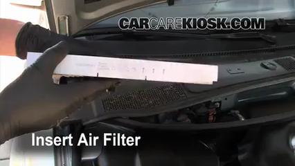 cabin filter replacement: volkswagen passat 1998-2005 ... 2004 volkswagen passat fuel filter location 2004 chevy silverado fuel filter location #15