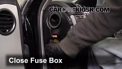 interior fuse box location   volkswagen touareg