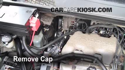 power steering leak fix 2002 2007 buick rendezvous 2005 buick determine the power steering fluid level