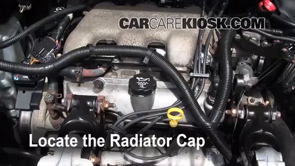 Coolant Flush How-to: Buick Rendezvous (2002-2007) - 2005 ...