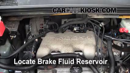 Brake Fluid Part on 2006 Buick Lacrosse Power Steering Hose