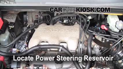 Power Steering Part on Buick Lacrosse Power Steering Fluid