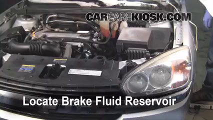 Add Brake Fluid 20042008 Chevrolet Malibu  2005 Chevrolet