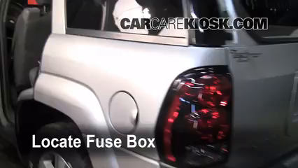 Interior    Fuse       Box    Location  20022009    Chevrolet
