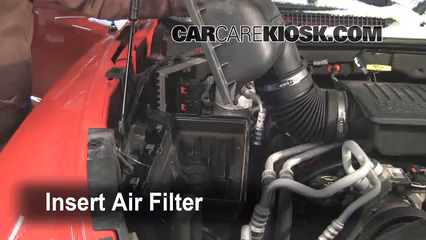Air Filter Engine Part on 2004 Dodge Durango Custom Parts