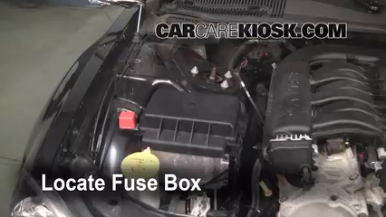 replace a fuse chrysler chrysler touring replace a fuse 2005 2010 chrysler 300 2005 chrysler 300 touring 3 5l v6