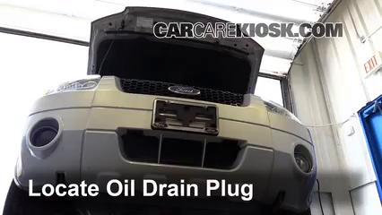 Oil Amp Filter Change Ford Escape 2005 2012 2008 Ford Escape Xlt 3 0l V6
