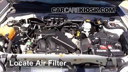 air filter how to 2005 2012 ford escape 2011 ford. Black Bedroom Furniture Sets. Home Design Ideas