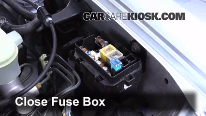 replace a fuse 2000 2009 honda s2000 2005 honda s2000 2 2l 4 cyl 6 replace cover secure the cover and test component