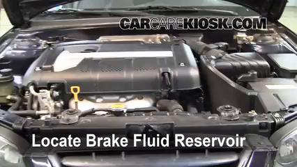 Add Brake Fluid 2004 2009 Kia Spectra 2005 Kia Spectra