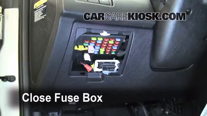 interior fuse box location 2003 2008 hyundai tiburon. Black Bedroom Furniture Sets. Home Design Ideas