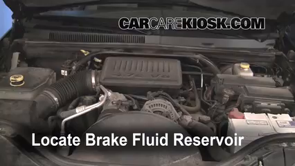 Jeep Grand Cherokee Limited L V Fbrake Fluid Part