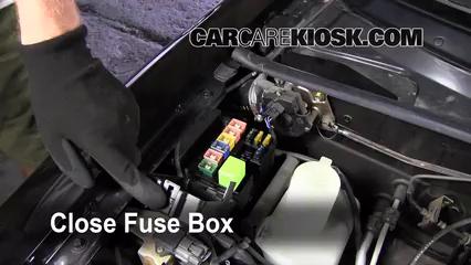 blown fuse check mazda miata mazda miata l cyl 6 replace cover secure the cover and test component