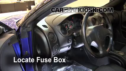 Interior    Fuse       Box    Location  20002005    Mitsubishi       Eclipse     2005    Mitsubishi       Eclipse    Spyder GS 2