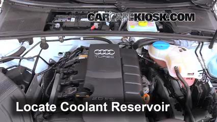 Fix Coolant Leaks: 2002-2008 Audi A4 Quattro - 2006 Audi A4 ... on antifreeze coolant, pink volkswagen coolant, pink audi coolant, audi engine oil, audi engine tools, audi gear oil, audi engine power, audi belt, audi power steering fluid, g12 coolant, audi g12 anti freeze, audi coolant flange and hose,