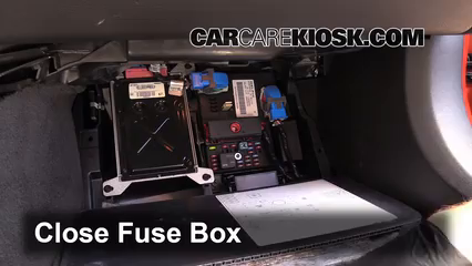 interior fuse box location 2005 2013 chevrolet corvette 2006 chevrolet corvette 6 0l v8. Black Bedroom Furniture Sets. Home Design Ideas
