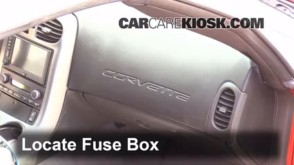 interior fuse box location 2005 2013 chevrolet corvette 2005 interior fuse box location 2005 2013 chevrolet corvette 2005 chevrolet corvette 6 0l v8 convertible