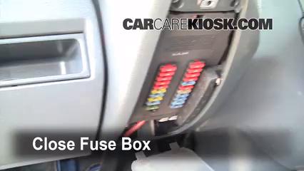 Interior Fuse Box Location: 2002-2006 Dodge Sprinter 2500 ...