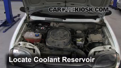 How to Add Coolant: Fiat Seicento (1998-2010) - 2006 Fiat Seicento Fiat Engine Coolant on fiat wheels, fiat accessories, fiat turbo, fiat parts, fiat fuses,