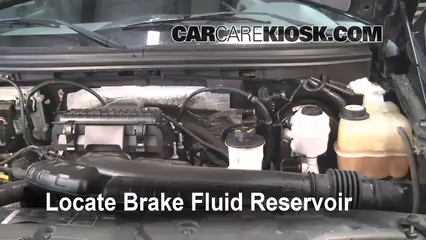 ford   brake fluid level check  ford