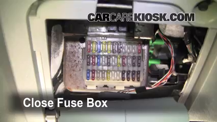 Where Is The Fuse Box In Ford Focus on