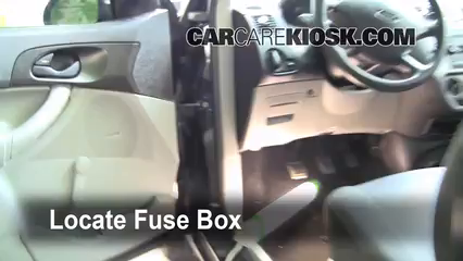 interior fuse box location: 2005-2007 ford focus - 2006 ... ford focus fuse box diagram 2007 location1 201 ford focus fuse box #12