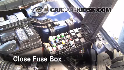 replace a fuse ford fusion ford fusion se l v 6 replace cover secure the cover and test component