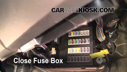 interior fuse box location 2006 2009 ford fusion 2006. Black Bedroom Furniture Sets. Home Design Ideas