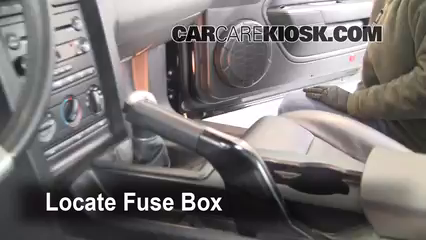 Ford F150 How To Replace Fuel Filter 360226 together with Check in addition Stereo Wiring Diagram 1999 Ford Ranger besides Add fluid together with T13076815 Cigarette fuse 2011 jetta tdi. on 2000 ford mustang fuse box diagram