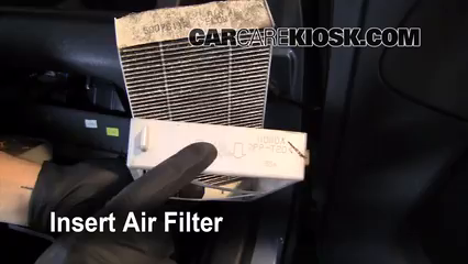 honda cr  cabin air filter check  honda cr  se   cyl