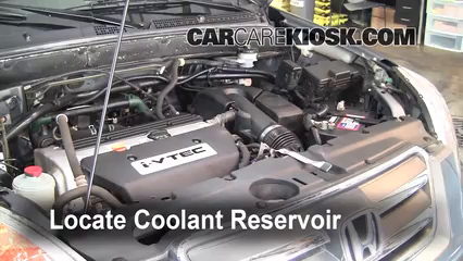 Coolant Flush How-to: Honda CR-V (2002-2006) - 2006 Honda CR-V SE ...