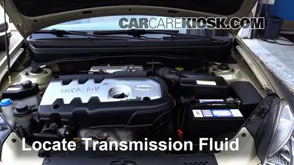 2006 kia rio manual transmission fluid