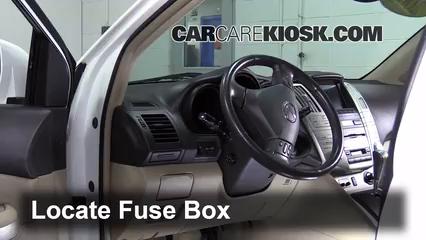 Interior Fuse Box Location 20042009 Lexus RX330 2004 Lexus – Lexus Rx330 Fuse Box Location