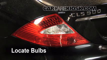 Tail light change 2006 2011 mercedes benz cls500 2006 for Mercedes benz light bulb replacement