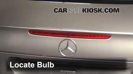 Third Brake Light Bulb Change Mercedes Benz E500 2003